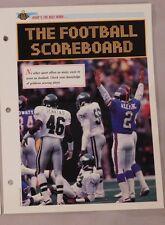 Eagles Vs Giants What's The Rule Fotball Score Jim Harbaugh Sports Heroes Sheet