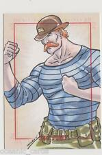 "SGT FURY & HIS HOWLING COMMANDOS SKETCH CARD SKETCHAFEX ARLEY TUCKER ""ARTURO"""