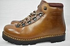 VINTAGE Brown DUNHAM LEATHER HIKING BOOTS MENS 6  WOMENS 8