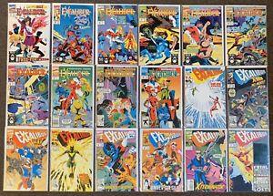 Excalibur #34,35,36,37,38,39,40,42,44,48,50,58,59,61,62,65,67,71 Series 1 1990