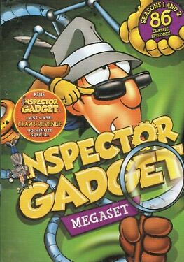 Inspector Gadget Complete TV Series Megaset  DVD  Box Set New Free Shipping