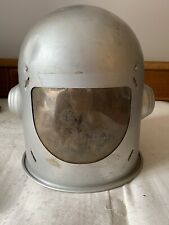 VINTAGE 1950'S MIRRO SATELLITE EXPLORER ALUMINUM HELMET SPACE TOY
