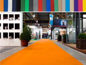 Messeteppich Eventteppich Teppich Hochzeitsteppich VIP Teppich | viele Farben