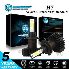 2x IRONWALLS H7 330000LM 2200W LED Headlight High or Low Beam 6000K Bright Power
