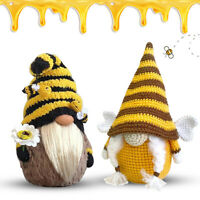 Bumble Bee Gnomes Plush Doll Gonk Dwarf Party Decoration Gifts Ornaments