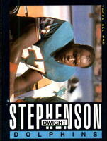 1985 Topps #318 DWIGHT STEPHENSON Miami Dolphins Football Card Awesome !