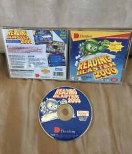 Davidson Reading Blaster 2000 All-In-One PC Software