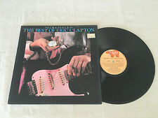 ERIC CLAPTON TIMEPIECES THE BEST OF 1982 NEW ZEALAND RELEASE LP