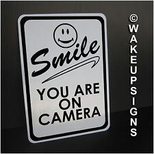 "YOUR VIDEO SURVEILLANCE SIGN ALUMINUM 7"" BY 10"" SMILE YOU ARE ON CAMERA you're"