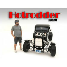 """HOTRODDERS"" ROBERT FIGURE FOR 1:24 SCALE MODELS BY AMERICAN DIORAMA 24029"