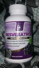 Bri Nutrition Resveratrol Exta Strength 60 Veg Caps