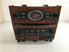 2007-2013 INFINITI G35 G37 CLIMATE CONTROL AC HEATER RADIO UNIT 25391-JK610