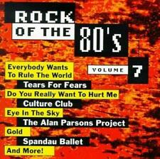 Various Artists : Rock Of The 80s, Vol. 7 CD
