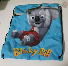 BLINKY BILL KIDS LIBRARY BAG TOTE BAG DRAWSTRING BAG SWIMMING BAG!