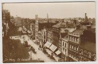 Wales postcard - St Mary Street, Cardiff - RP - P/U (A479)