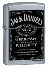 "Zippo Lighter ""Jack Daniels - Label"" No 24779 - New on street chrome"