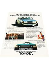 1973 Toyota Celica - Vintage Advertisement Car Print Ad J397