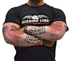 Missing Link Spf 50 Stitched in Time Tattoo ArmPro Compression Sleeves - Apst