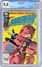 "E110. DAREDEVIL #181 Marvel CGC 9.8 NM/MT (1982) ""Death"" of ELEKTRA; WHITE Pages"