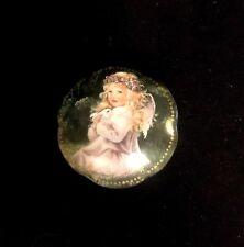 Vintage 1997 Music Box Trinket An Angels Love Heaven's Little Sweethearts #4547A