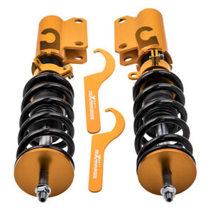 2x Front Coilover Shock Absorber for BMW X5 E53 00-06 Adjustable Height Struts