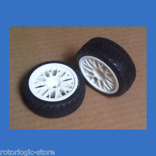 2pcs Tire and Wheel Rim set for 1/10 On Road Racing RC Car -USA Seller