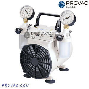 Welch 2546 Chemical Duty Dry Piston Vacuum Pump, New by Provac Sales, Inc.