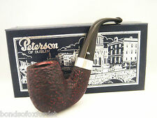Peterson Special Pipe Extra Large Bent Rustic Fishtail (House Pipe Size)