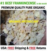 PREMIUM Frankincense Resin High Quality Organic Aromatic Resin Tear Rock Incense