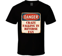 Crazy Falling In Reverse Fan Music Artist Vintage Sign T Shirt