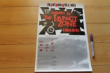 Journey To The Impact Zone - 2007 Jeff Neu 11x17in. Vintage Surfing Poster