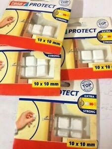 Stock tesa Frappe 4 Paquets 32 Roulements en Plastique Blanche Pour Poignées