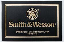 PISTOL GUN PRESENTATION CASE BOX SMITH & WESSON LABEL 1917 39-2 40 1911 revolver