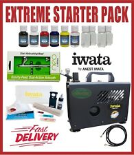 Iwata IS875 Smart Jet Pro Compressor Power Tank Spray Art Pressure PSI