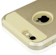 "Gold Hybrid Shockproof Hard Back Cover Case For Apple iPhone 6S 4.7"""