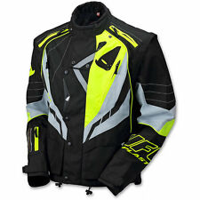 Giacca (XXL Adulto) Moto Enduro Jacket UFO Nero Giallo Fluo Black Fluo Yellow