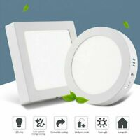 6W-24W LED Ceiling Down Light Panel Surface Mount Kitchen Bedroom Fixture Lamp