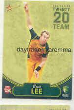 Select Brett Lee Cricket Trading Cards