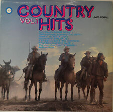 "COUNTRY HITS VOL. 1 - CAL SMITH - BRENDA LEE ETC. 12"" LP (O230)"