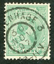 GROOTROND 'S GRAVENHAGE 3 , 30 NOV 97 (KLEIN CIJFER) OP 20 CT.NR. 40   Zj201