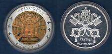 Médaille Couleur - Etat du Vatican EPISCOPVS ROMANVS STATVS VATICANVS 1