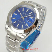 BLIGER Luxury Automatic Men Watch Sapphire Glass Date MIYOTA Movement 40mm