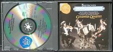 CD Beethoven Guarneri Middle quartets op 59, 74 & 95 3 x CD M, BX NM