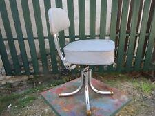 ancien fauteuil siege chaise bureau usine atelier deco industriel france