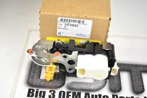 Chevrolet GMC Buick Front LH Drivers Door Latch  w/ Actuator & Ajar switch OEM