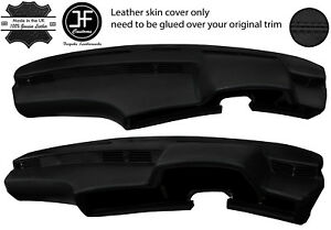 BLACK LEATHER DASH DASHBOARD LEATHER COVER FITS BMW 6 SERIES  E24 HIGHLINE L6