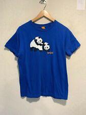 Vintage Enjoi Skateboarding Panda Bear Graphic T-Shirt Size SMALL Men's Rare EUC