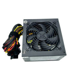 NEW 550 Watt 24/20-pin ATX Computer PC SATA PCI-E Gaming Power Supply 500 Watt