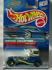 HOT WHEELS-2000 - LIK 'M LOOSE - VIRTUAL COLLECTION SEMI FAST - RETIRED CASTING