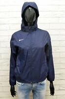 Giubbotto Donna Nike Taglia M Slim Giubbino Giacca Blu Jacket Woman Nylon Jacke